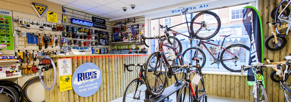 We stock complete bikes, accessories, frames and components