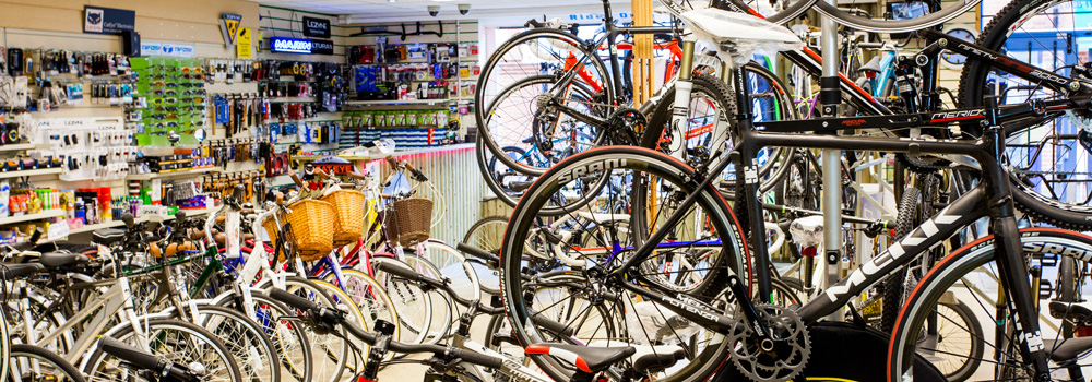 We are South Oxfordshire's largest bike shop