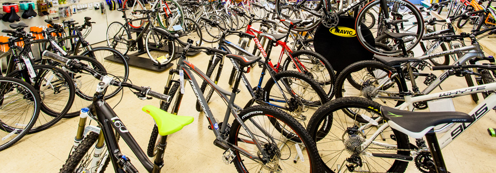 Huge selection of quality bikes