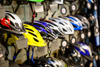 Bicycles helmets in all sizes and styles